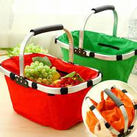 Wholesale shopping basket,Supermarket equipment shopping basket/cooler picnic basket/insulated foldi from china suppliers
