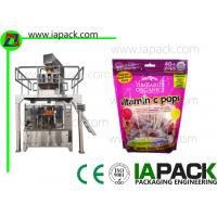 Wholesale Candy Premade Pouch Packing Machine Rotary Preformed Fill Seal Bagging from china suppliers