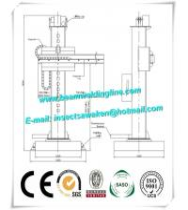 Wholesale Pipe Turning Roller Welding Manipulator , Welding Column Boom Manipulator from china suppliers