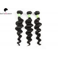 Quality Grade 8A 3 bundles Brazilian Virgin Human Hair Loose Deep Wave Hair Weft For Girl for sale