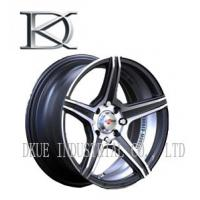 Wholesale Sliver Finished 20 Inch Deep Dish Rims / Replica Alloy Wheels For SUV from china suppliers