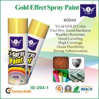 Wholesale Gold Fast Drying Aerosol Spray Paints from china suppliers