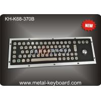 Wholesale Rugged Stainless Steel Industrial Computer Keyboard with Water proof Trackball from china suppliers