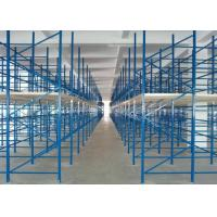 Wholesale Powder coated Metal Warehouse Storage Racks / garage storage shelves from china suppliers