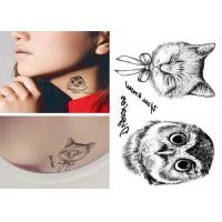 Quality Custom long lasting removable waterproof  temporary tattoo sticker for body for sale