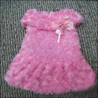 Wholesale Shih Tzu, Mini Schnauzer Red Pink Lovely Princess Custom Dog Dresses from china suppliers