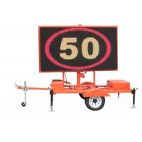 Wholesale Trailer Mounted Led Traffic Display VMS Road Signs Digital Outdoor from china suppliers