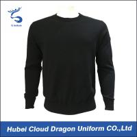 Wholesale Custom Long Sleeve Security Guard Shirts / Duty Security Guard Sweater 55%Acrylic 45%Cotton from china suppliers