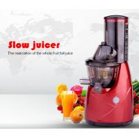 Wholesale BPA FRE Wide Mouth AC induction motor 76mm Whole fruit slow juicer from china suppliers