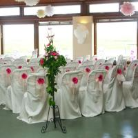 Wholesale hotel wedding banquet restaurant chair cover from china suppliers