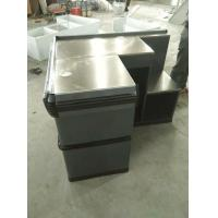 Wholesale Anti Corrosion Supermarket Metal Cash Table Used Grocery Store , Powder Coated from china suppliers