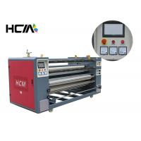 Wholesale Heat press printing equipment / roller heat press machine for cut - piece roll to roll fabric from china suppliers