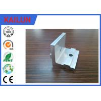 Wholesale Mill Finish 90 Deg Anodised Aluminium Angle with Punching Hole for Solar Mounting Bracket Part from china suppliers