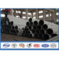 Wholesale Middle Voltage Galvanized Transmission steel power pole 60FT Slip Joint Connection from china suppliers