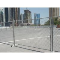 Wholesale 1.8mm - 4.5mm Galvanized Chain Link Fence For High-Way / Commercial from china suppliers