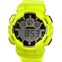 Wholesale Silicon Men Gents Digital Watch With Alarm Function , Stainless Steel from china suppliers