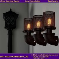Wholesale metal up and down vintage wall lamp with ST64 Edison bulb for dinning room from china suppliers