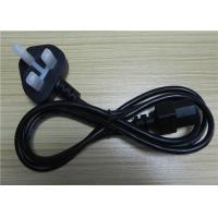 Wholesale PHINO UK Kite Mark Black Kettle Lead Power Cable With 3a Fuse 1.5m Length Bs En60320 from china suppliers
