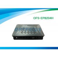 Wholesale Plastic 10 / 100M GPON EPON 4 Ethernet Ports  2 FXS ports External Power from china suppliers