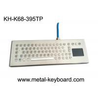 Wholesale Water-proof desktop industrial 67 keys PC-keyboard layout with touchpad and 3 mouse buttons from china suppliers
