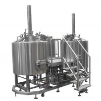 Wholesale Steam Heated Micro Brewing Equipment , 10BBL Or Customized Brewhouse from china suppliers