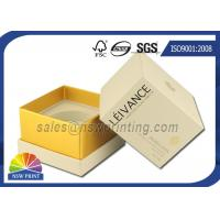 Wholesale Perfume / Cosmetics Paper Gift Box Rigid Setup Boxes With UV Varnishing from china suppliers