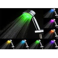 Wholesale Bathroom Temperature Controlled 7 Led Color Changing Shower Head With Handheld from china suppliers