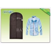 Wholesale Foldable With PVC Window Non woven Garment Bag Suit Cover For Mev 's T - Shirt from china suppliers
