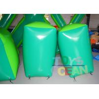 Wholesale 0.6mm PVC Green Inflatable Paintball Bunkers Inflatable Paintball Barriers CE from china suppliers