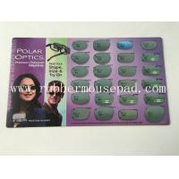 Wholesale Full Color Rubber Desk pad counter With Rubber Base , PVC Table Mat from china suppliers