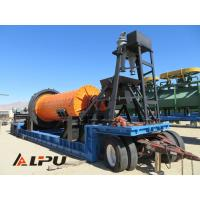 Wholesale Large Capacity Portable Ore Mineral Grinding Mining Ball Mill Φ1500×3000 from china suppliers