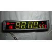 Wholesale Electronic Bus part Bus and coach digital clock showing logo time indoor temperature from china suppliers