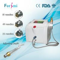 Wholesale 5MHZ Frequency fast wrinkle removal high power face lifting fractional rf microneedle from china suppliers