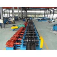 Wholesale Three Waves Guardrail Roll Forming Machine with Conveyor Table Hydraulic Decoiler from china suppliers