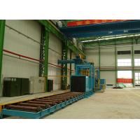 Quality High Power Roller Conveyor Shot Blasting Machine For Steel Plate Materials for sale