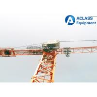 Wholesale AdjustableLoadCapacity Inner Climbing Hammerhead Tower Crane 6 ton from china suppliers