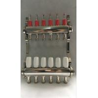 Wholesale Stainless Steel 304 Floor Hydronic Heating Manifold / Brass Water Manifold from china suppliers