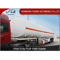 Wholesale 36000 L double tire fuel tank truck trailer for sale BPW brand axle from china suppliers