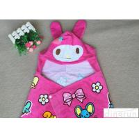 Wholesale Lightweight Convenient Hooded Poncho Towels Breathable Lovely 60*120cm from china suppliers