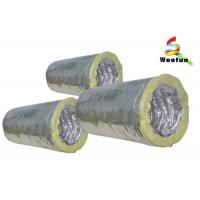 Wholesale Fiberglass Insulated Flexible Ducting for Air Conditioning System Customized Sizes from china suppliers