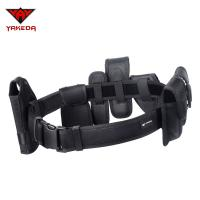 Wholesale Tactical  Military Combat Belt , 1000D Oxford Black Military Belt With Small Pouches from china suppliers