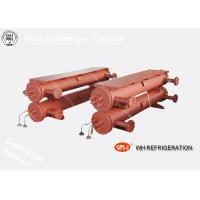 Quality Marine Shell And Tube Type Heat Exchanger , R410A Water Cooled Condenser for sale