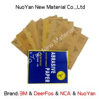 Quality Metal 1000 Grit Wet Or Dry Sandpaper Aluminium Oxide Silicon Carbide Coated for sale