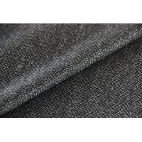 Wholesale Brushed Twill Construction Worsted Wool Fabric , Grey Strong Twilled Fabric from china suppliers