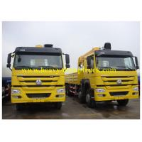 Wholesale Truck Mounted Mobile Crane Sinotruk HOWO 6X4 10 tons with HW76 cabin from china suppliers