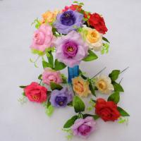 China artificial silk flowers wholesale on sale