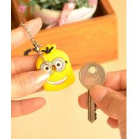 Buy cheap Eco-friendly silicone cute key caps customized durable silicone key cap for gift from wholesalers