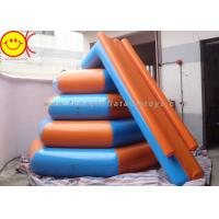 Wholesale Airtight 0.9mm PVC 4m In Diameter And 3m In Height Inflatable Floating Water Slide from china suppliers