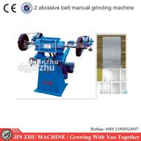 Wholesale Manual Two Sand Belt Grinding Metal Sanding Machine Electric Energy Saving from china suppliers