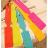 Wholesale 2014 environmental rewritable silicone luggage tags from china suppliers